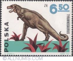 Image #1 of 6,50 złotego1965 - Tyrannosaurus rex