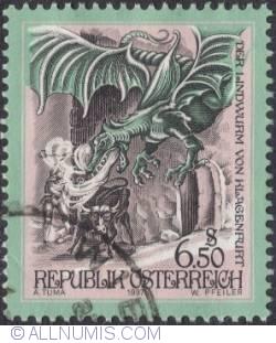 Image #1 of 6.50s Lindworm of Klagenfurt/Carinthia 1997