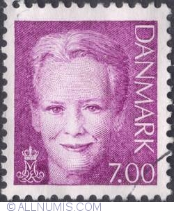 Image #1 of 7 kroner - Queen Margarethe II