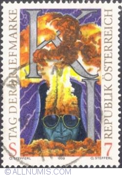 Image #1 of 7 schilling 1999 - Stamp Day