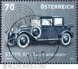 "Image #1 of 70 €c 2012 -  Steyr XII Taxi ""Landaulet"""