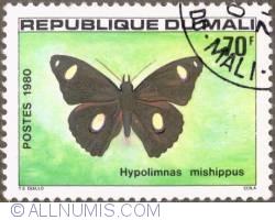 Image #1 of 70 Francs 1980 - Hypolimnas mishippus