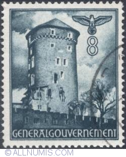 Image #1 of 8 groszy 1941 - Watch Tower, Cracow
