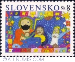 Image #1 of 8 koruna 2004 - Christmas