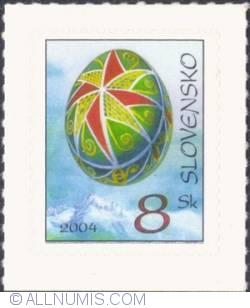 8 koruna 2004 - Easter Egg