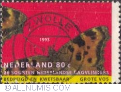 Image #1 of 80 Cents 1993 - Large tortoiseshell (Grotevos)