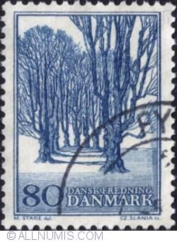 80 Øre 1966 - Bregentved Holte Alle