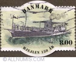 Image #1 of 8,00 Kroner 2011 - Steamship Hjejlen 150 year