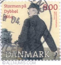 Image #1 of 9 Kroner 2014 - Battle of Dybbøl in 1864