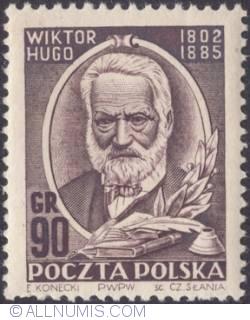 Image #1 of 90 Groszy 1952 - Victor Hugo