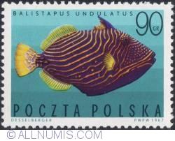 Imaginea #1 a 90 Groszy 1967 - Balistapus undulatus