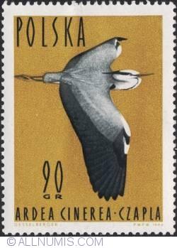 Image #1 of 90 groszy -Grey heron