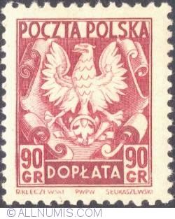 Image #1 of 90 groszy- Polish Eagle