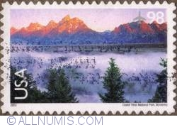 Image #1 of 98 c 2009 - Grand Teton Nat. Park, Wyoming