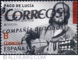 Image #1 of B (No value) -     Paco de Lucia