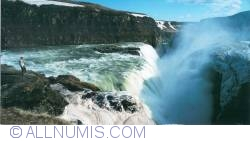 Image #1 of Gullfoss (The golden waterfall) (2014)