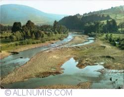 Image #1 of Żywiec Beskids - River Soła nearby Żywiec. (1980)
