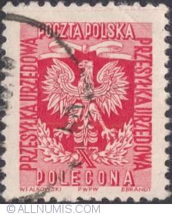 Polecona (1,55 zł.) - Eagle