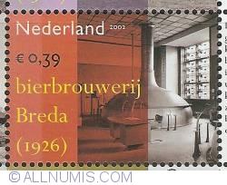 Image #1 of 0,39 Euro 2002 - Industrial Heritage - Brewery Breda