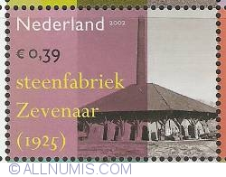 Image #1 of 0,39 Euro 2002 - Industrial Heritage - Brick Factory Zevenaar