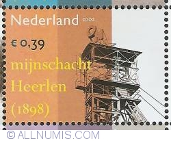 Image #1 of 0,39 Euro 2002 - Industrial Heritage - Coal Mine Heerlen