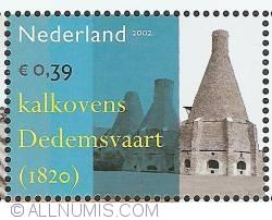 Image #1 of 0,39 Euro 2002 - Industrial Heritage - Limekilns Dedemsvaart
