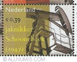 Image #1 of 0,39 Euro 2002 - Industrial Heritage - Oil Derrick Schoonebeek