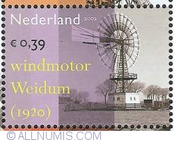 Imaginea #1 a 0,39 Euro 2002 - Industrial Heritage - Wind Engine Weidum