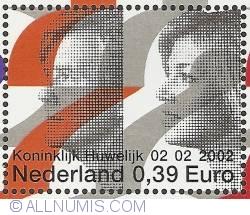 Image #1 of 0,39 Euro 2002 - Royal Wedding - Willem-Alexander & Maxima