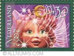 0,39 Euro 2002 - The Efteling - Dreamflight Fairy
