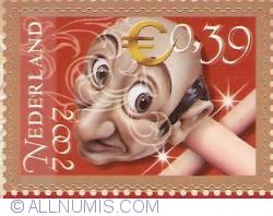 0,39 Euro 2002 - The Efteling - Langnek