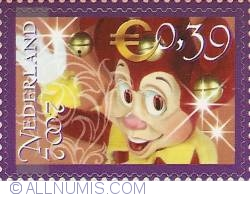 0,39 Euro 2002 - The Efteling - Pardoes