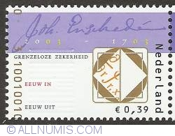 Image #1 of 0,39 Euro 2003 - 300 Years of Joh. Enschedé and Sons
