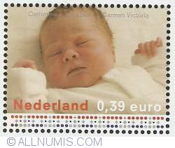 Image #1 of 0,39 Euro 2003 - Birth of Princess Catharina-Amalia