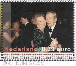 Image #1 of 0,39 Euro 2003 - Queen Beatrix and Prince Claus (1998)