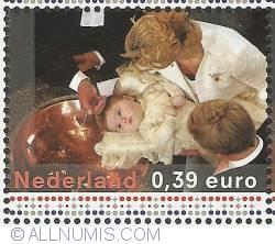 Image #1 of 0,39 Euro 2004 - Baptism of Catharina-Amalia
