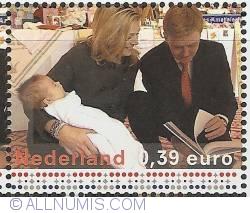 Image #1 of 0,39 Euro 2004 - Birth of Catharina-Amalia