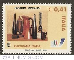 Image #1 of 0,41 Euro 2003 - Giorgio Morandi - Natura Morta