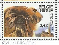 Image #1 of 0,42 Euro 2002 - Griffon Bruxellois