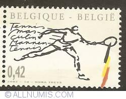 Image #1 of 0,42 Euro 2002 - Men's Tennis