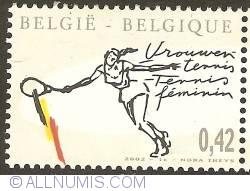 Image #1 of 0,42 Euro 2002 - Woman Tennis