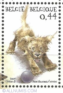 Image #1 of 0,44 Euro 2004 - Dog
