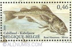 Image #1 of 0,46 Euro 2006 - Fish of the North Sea - Cod