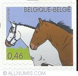 Image #1 of 0,46 Euro 2006 - Horses