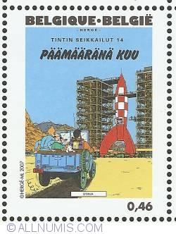 Image #1 of 0,46 Euro 2007 - Destination Moon (Finnish)