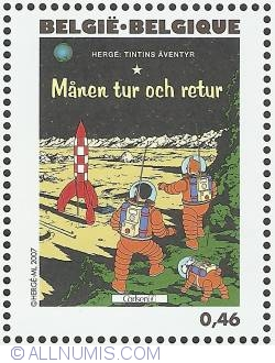 Image #1 of 0,46 Euro 2007 - Explorers on the Moon (Swedish)