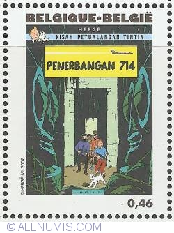 Image #1 of 0,46 Euro 2007 - Flight 714 (Indonesian)