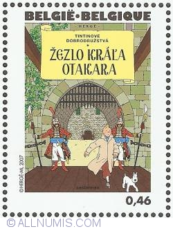 Image #1 of 0,46 Euro 2007 - King Ottokar's Sceptre (Slovak)