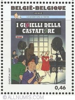 Image #1 of 0,46 Euro 2007 - The Castafiore Emerald (Italian)