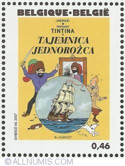 Image #1 of 0,46 Euro 2007 - The Secret of the Unicorn (Polish)